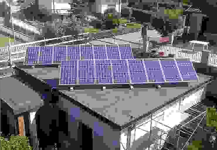 PEF Italia SPA Flat roof Glass Metallic/Silver