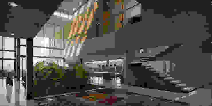 La Casa de los Jardines. Guataparo Country Club , Valencia. BOCA proyectos Comedores de estilo moderno