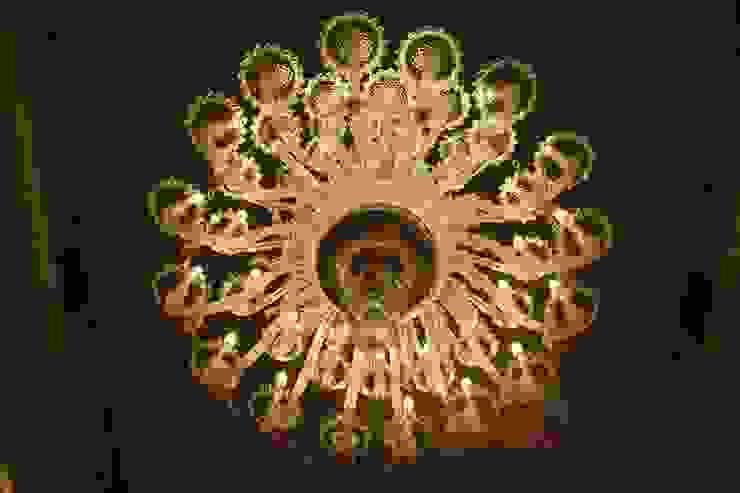 Restauro lampadario a Palazzo Mazzetti (Asti) MULTIFORME® lighting SoggiornoIlluminazione Vetro