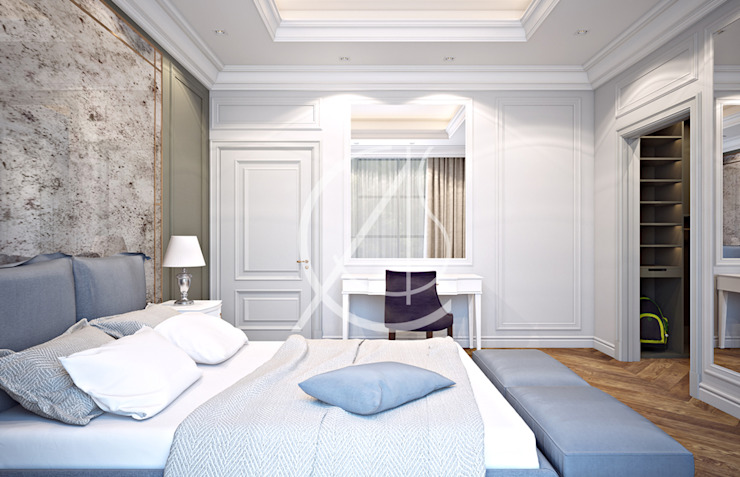 Classic style bedroom by Comelite Architecture, Structure and Interior Design Classic