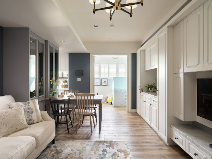 陶璽空間設計 Living roomCupboards & sideboards