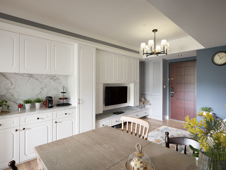 陶璽空間設計 Living roomTV stands & cabinets
