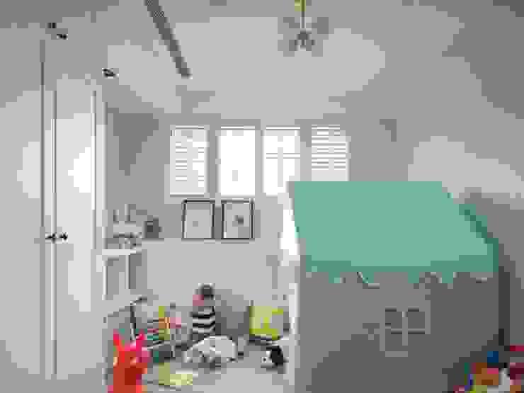 陶璽空間設計 Nursery/kid's roomWardrobes & closets White