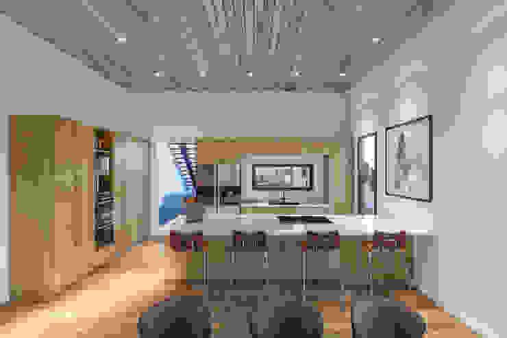 Villa Karaoğlanoğlu Modern Mutfak yücel partners Modern