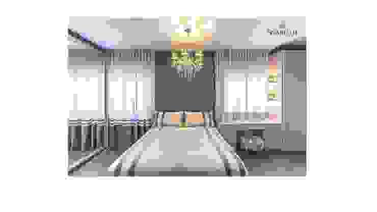 Sgabello Interiores BedroomBeds & headboards Grey