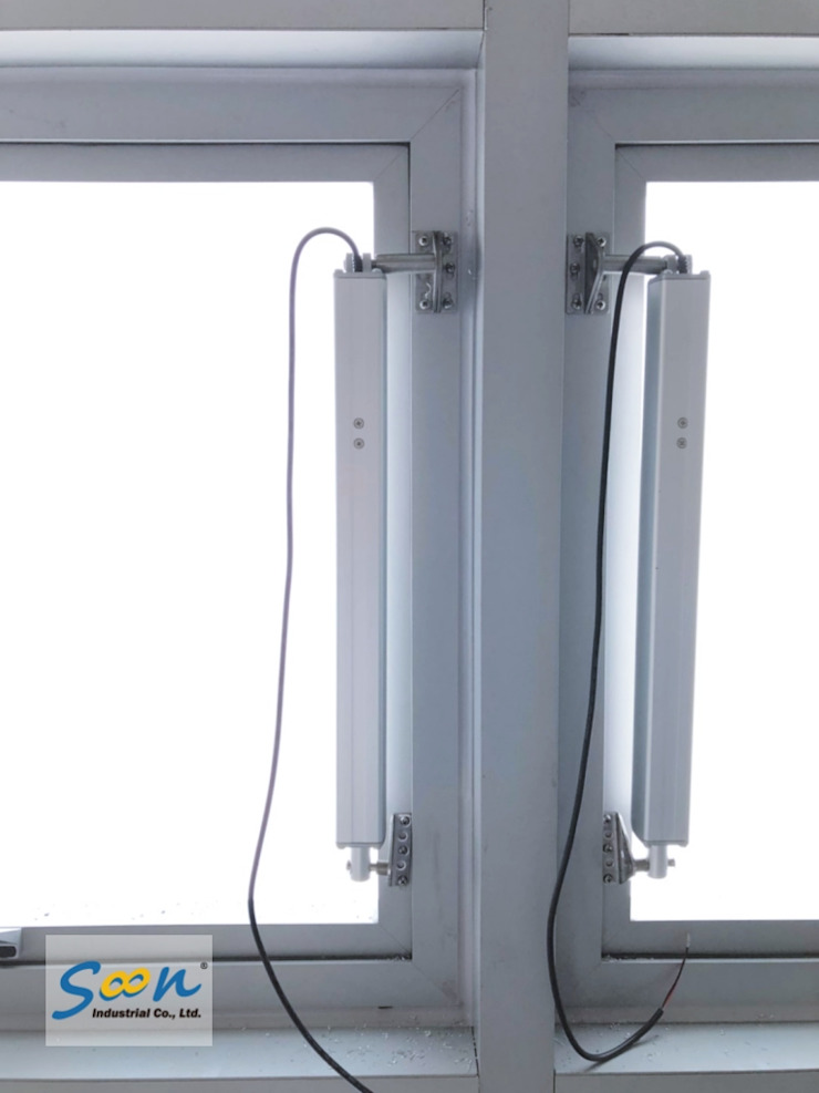 SHEV System In New MRT Station - photo 3 Soon Industrial Co., Ltd. Industrial windows & doors Aluminium/Zinc Metallic/Silver