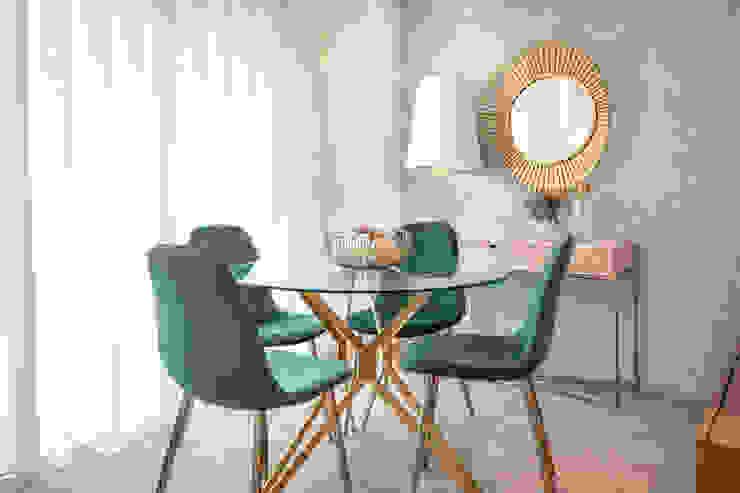 Apartamento Lapa Glim - Design de Interiores Salas de jantar modernas