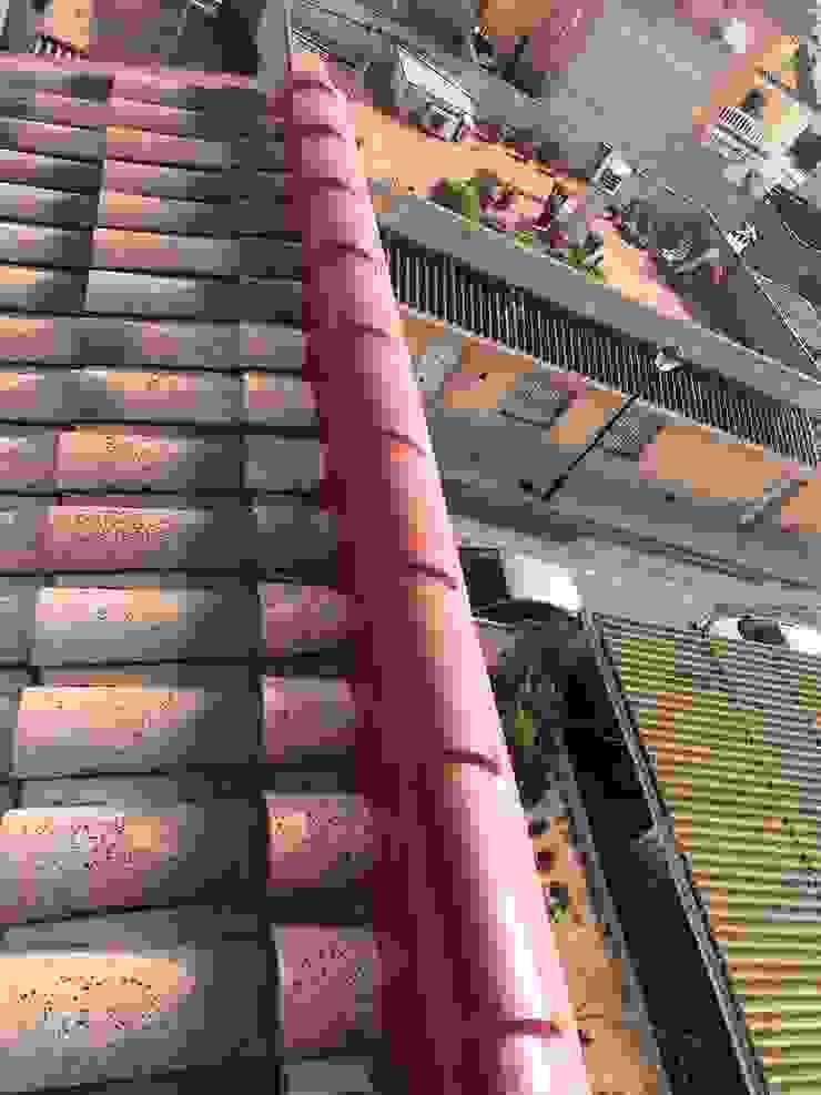 impermeabilizar cumbrera de tejado de tejas curvas de vivienda unifamiliar EUROPA 9