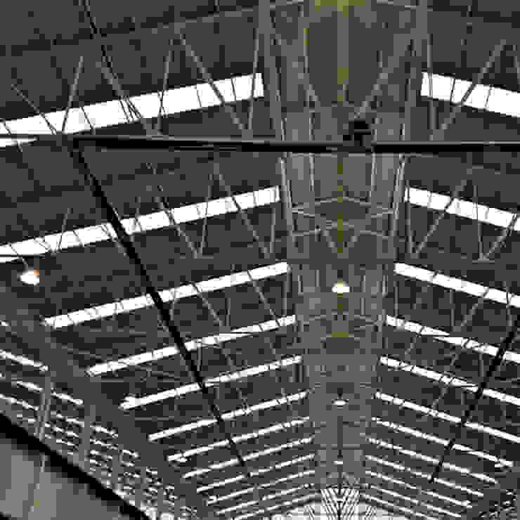 Calefacción por infrarrojos en nave industrial Komfort Industrial Solemex