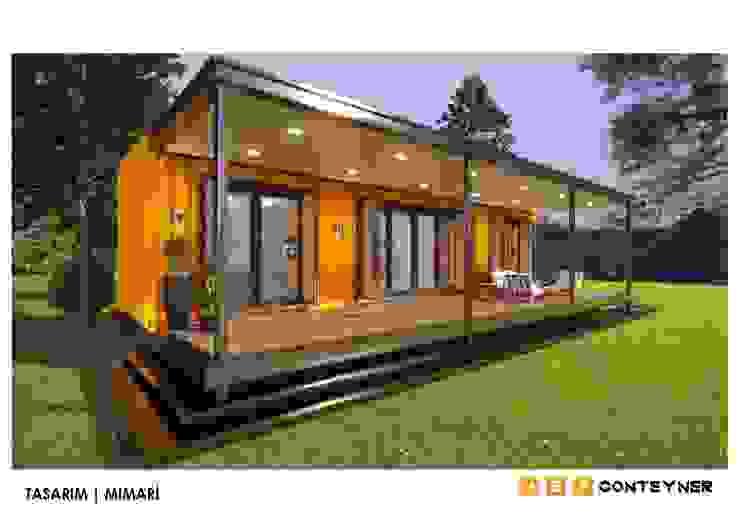 TINY HOUSE | KÜÇÜK EV | KONTEYNER EV | VİLLA Endüstriyel Evler Meteor Mimarlık & Tasarım Endüstriyel