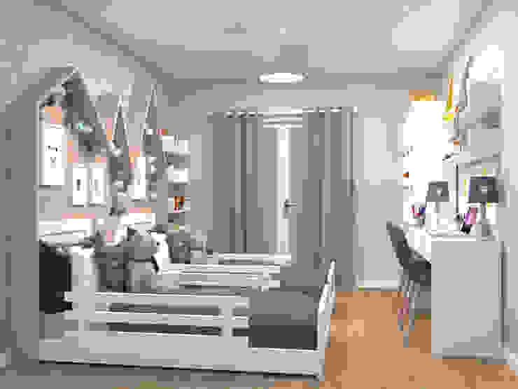 Oficina Rústica Nursery/kid's roomBeds & cribs Wood