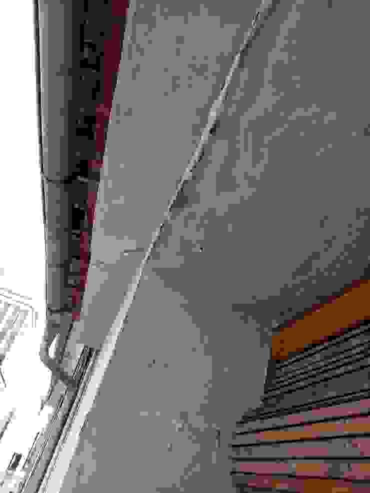 Reparaciones de humedaes y filtraciones de agua de fachada en edificio de comunidad viviendas antiguas. EUROPA 9