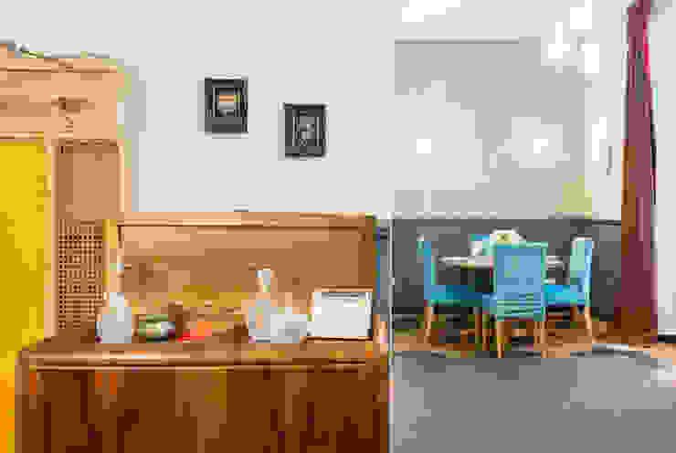 Tania Mariani Architecture & Interiors ЇдальняКомоди & sideboards Дерево Янтарний / Золотий