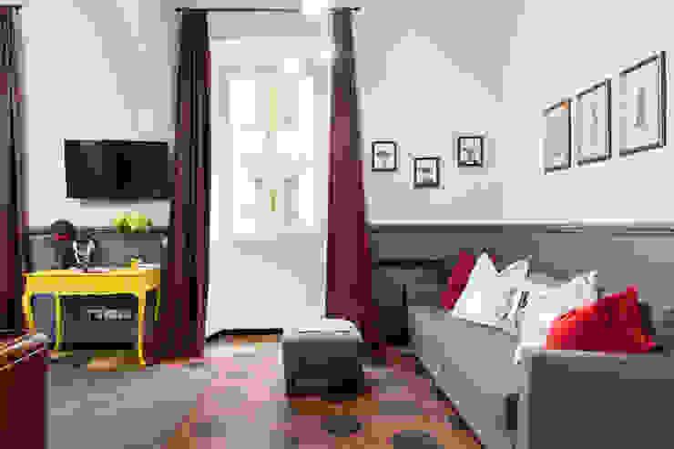 Tania Mariani Architecture & Interiors ВітальняДивани та крісла