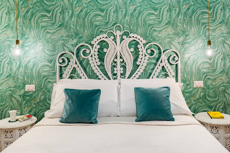 Tania Mariani Architecture & Interiors СпальняЛіжка та спинки