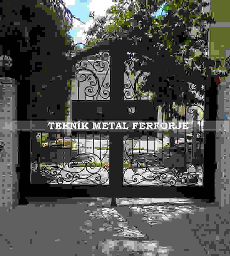 Teknik Metal Ferforje Modern style gardens
