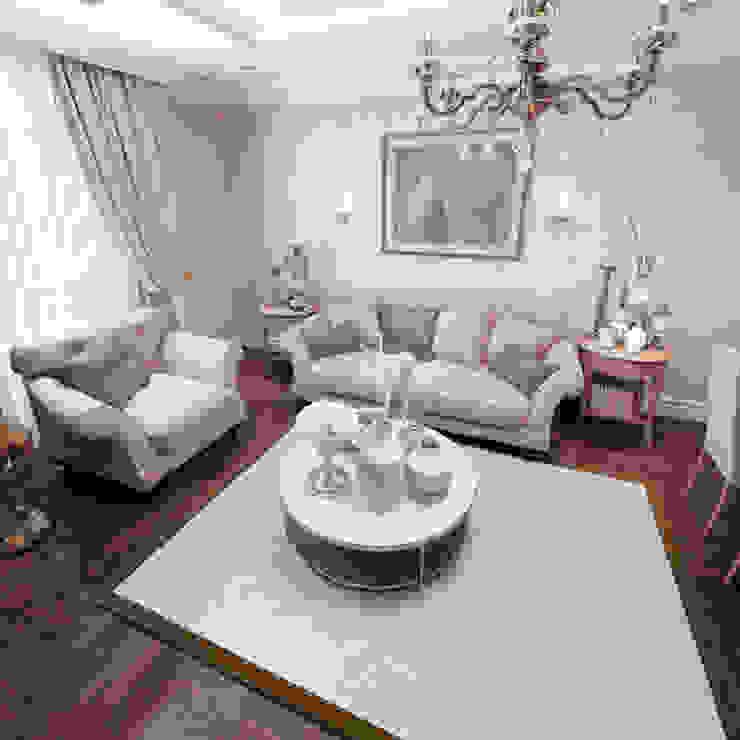 Polanski Innenarchitektur Living roomSofas & armchairs Textile White