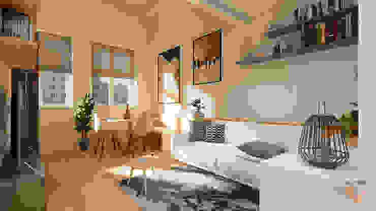 Living Soggiorno moderno di Idea Design Factory Moderno