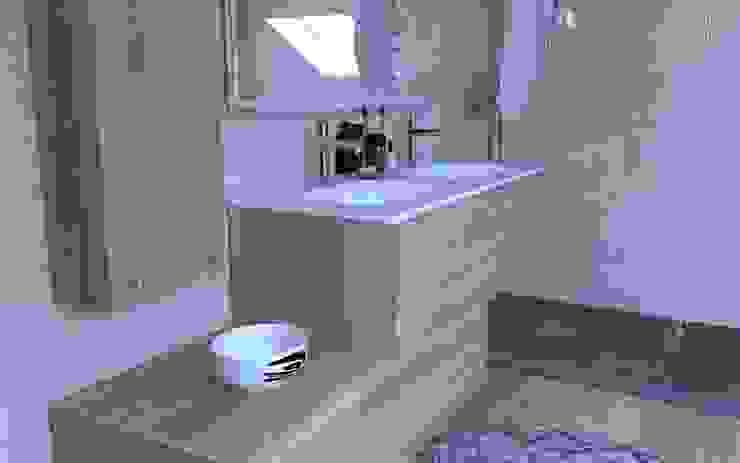 Projet 3D photoréaliste salle de bain par C'LID INTERIEURE Moderne