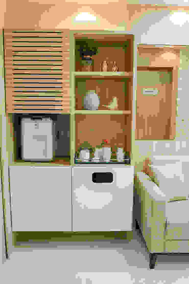 Feng Shui Suly Barreto Klinik Modern MDF White