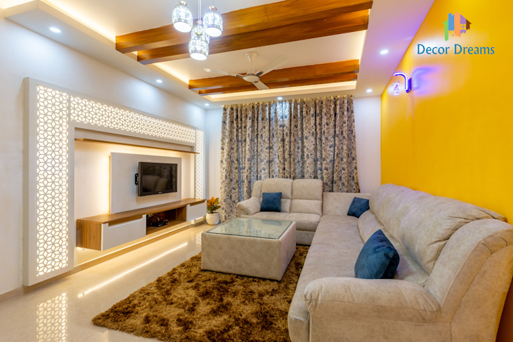 DECOR DREAMS Modern Living Room