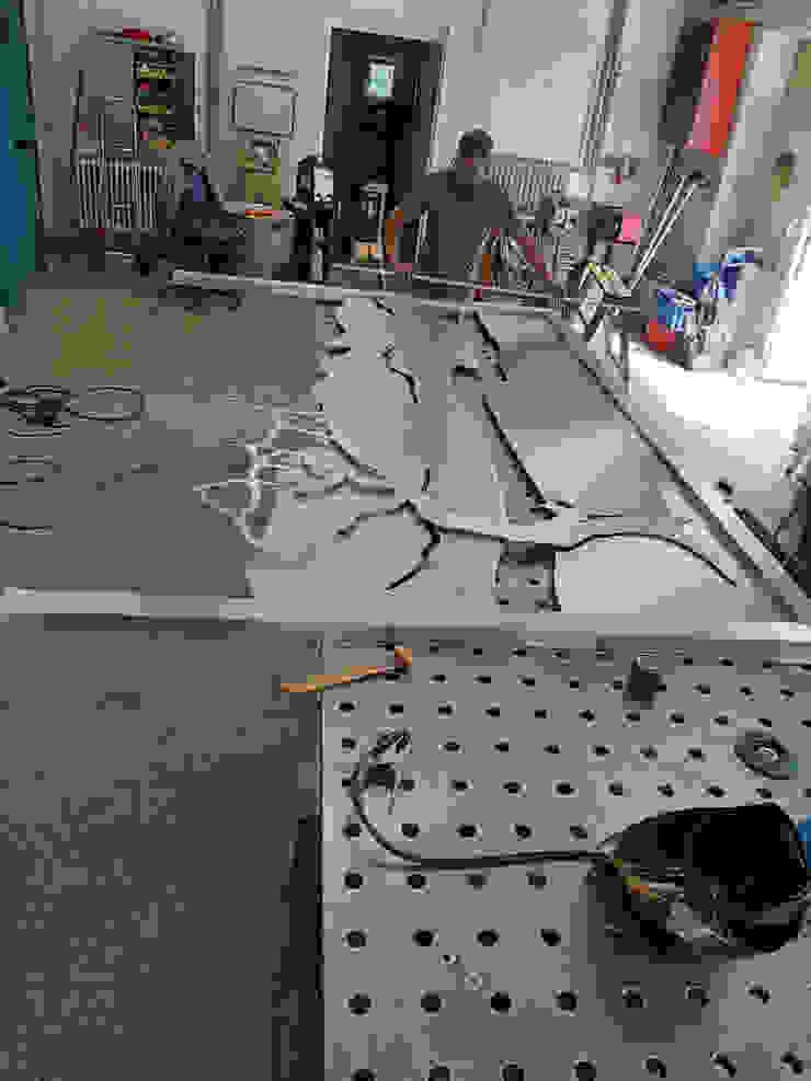 Edelstahlwerkstatt Edelstahl Atelier Crouse: Vorgarten Metall Metallic/Silber