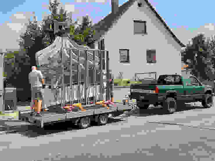 Ladung Edelstahl Atelier Crouse: Vorgarten Metall Metallic/Silber