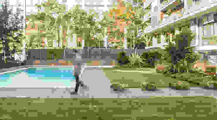Jardins modernos por Soler Valiente Arquitectes Moderno