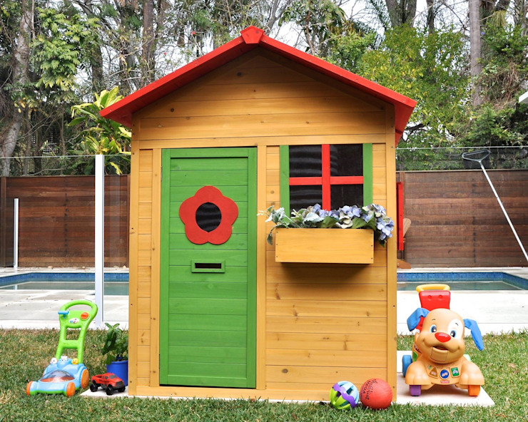 Casita Sunny de House Muebles Infantiles Clásico Madera maciza Multicolor