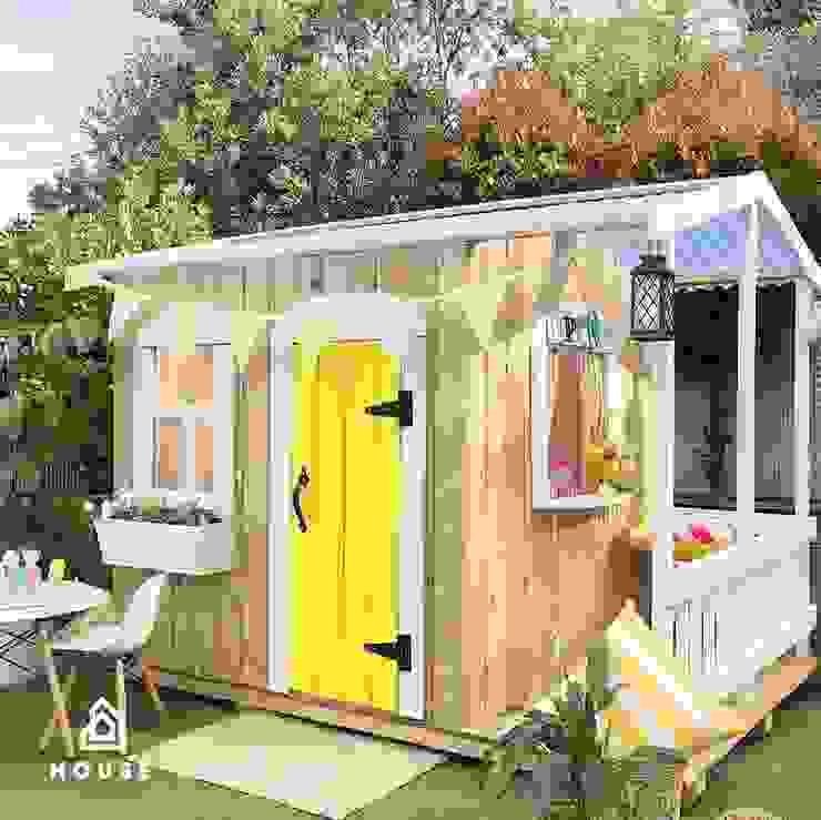 La Casita Bonita de House Muebles Infantiles Rústico Madera maciza Multicolor
