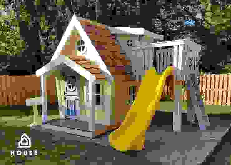 Casita Merlina de House Muebles Infantiles Moderno Madera maciza Multicolor