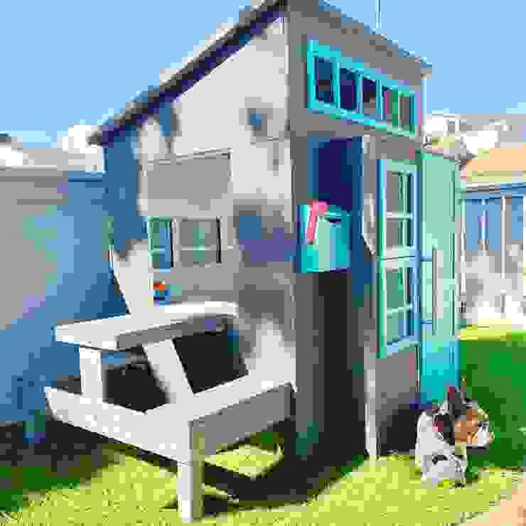 Casita de jardin Tomy de House Muebles Infantiles Minimalista Madera maciza Multicolor