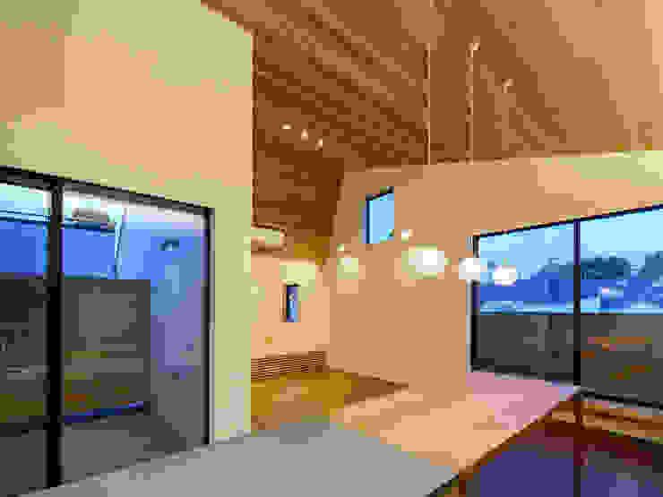 設計事務所アーキプレイス Kitchen Wood Wood effect