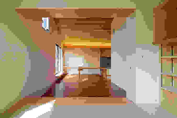 設計事務所アーキプレイス Floors Plywood Wood effect