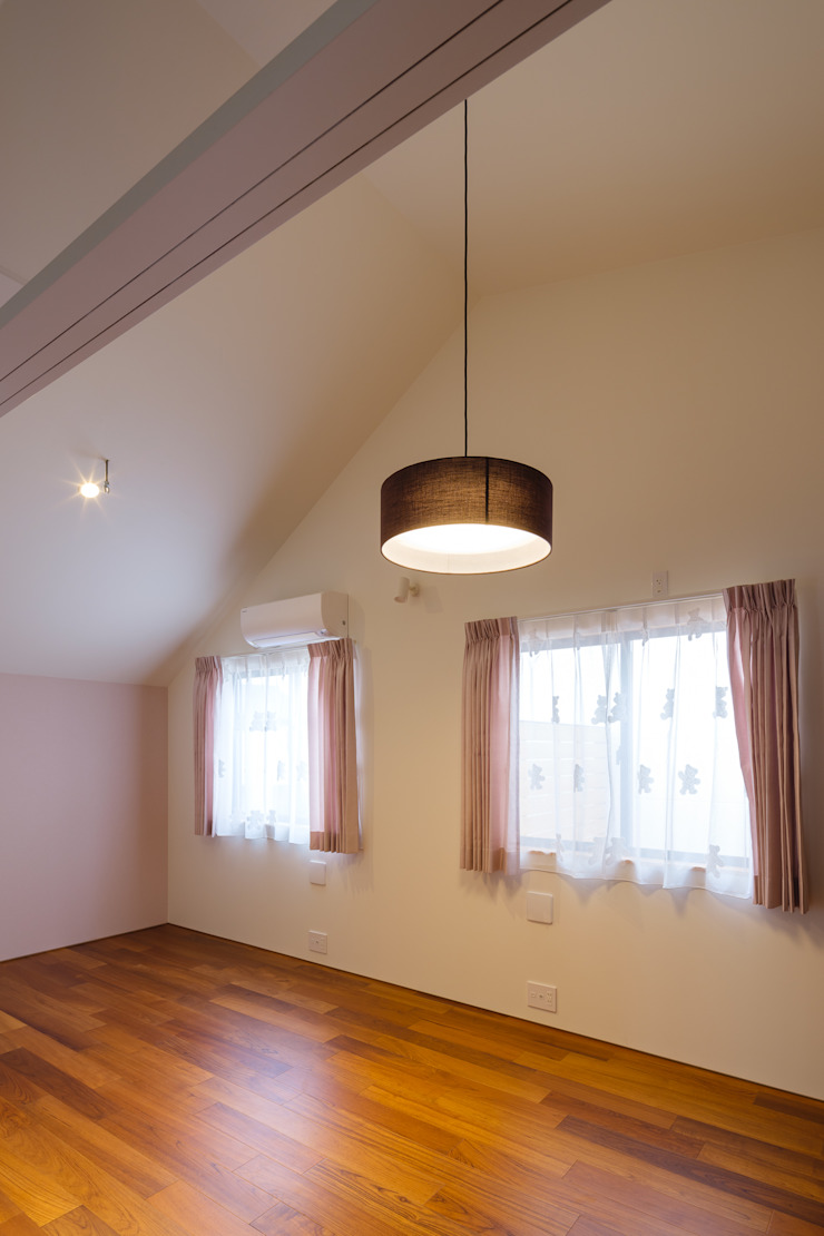 設計事務所アーキプレイス Girls Bedroom Pink