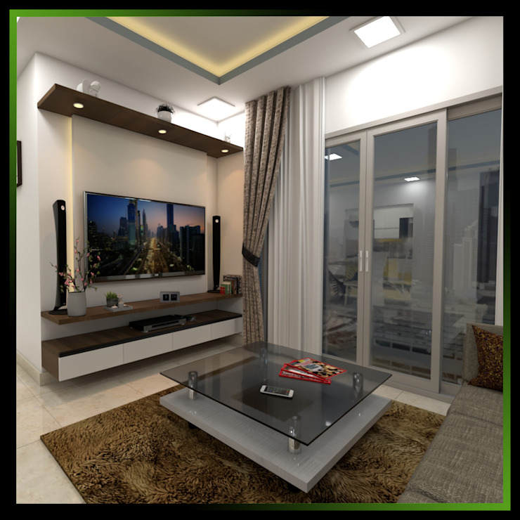 3 Modern living room by Magnon India Modern