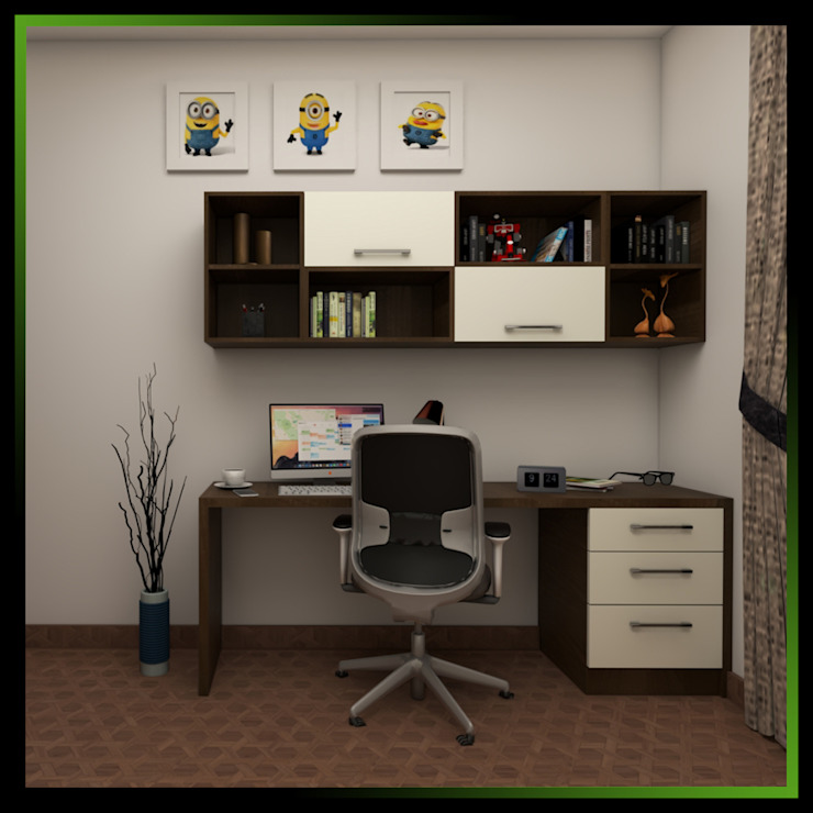 4 Modern study/office by Magnon India Modern