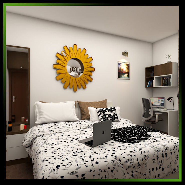 5 Modern style bedroom by Magnon India Modern