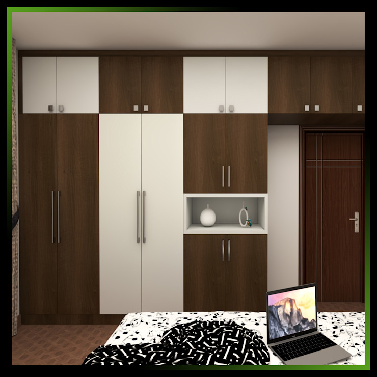6 Modern dressing room by Magnon India Modern
