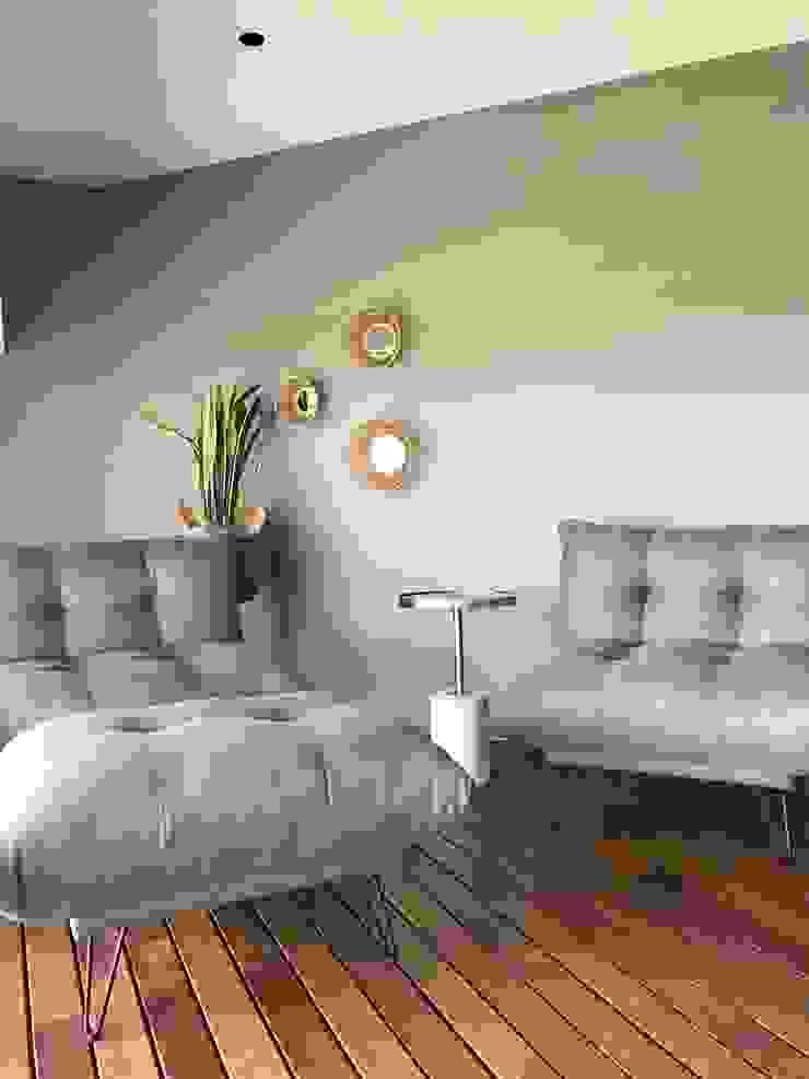 A interiorismo by Maria Andes ห้องนอน