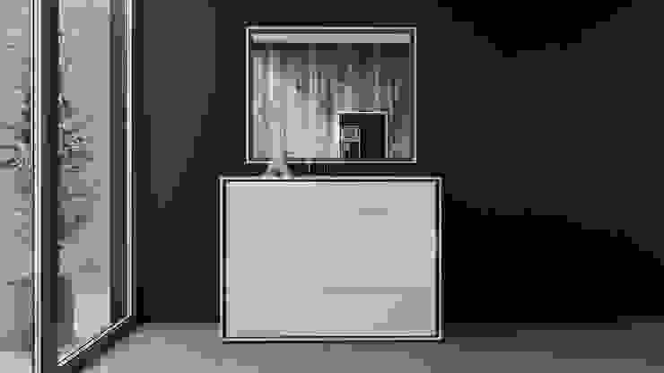 ITALIANELEMENTS DormitoriosClósets y cómodas Tablero DM Blanco