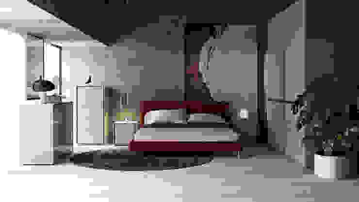 ITALIANELEMENTS DormitoriosClósets y cómodas Tablero DM Gris