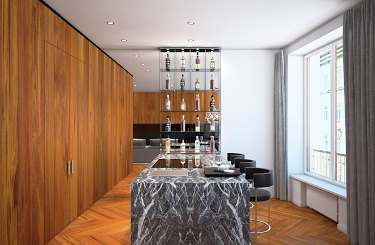 Arch+ Studio Built-in kitchens