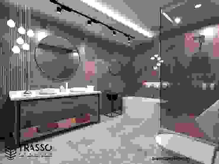 CASA LIRIOS TRASSO ATELIER Baños modernos