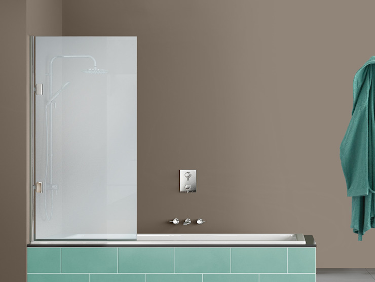 Vidriera del Cardoner BathroomBathtubs & showers Kaca