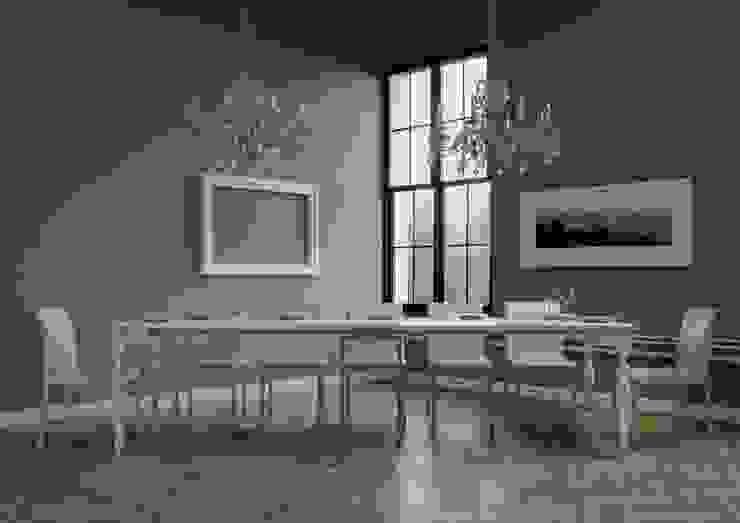 Romagna itamoby Sala da pranzo in stile classico Legno Effetto legno