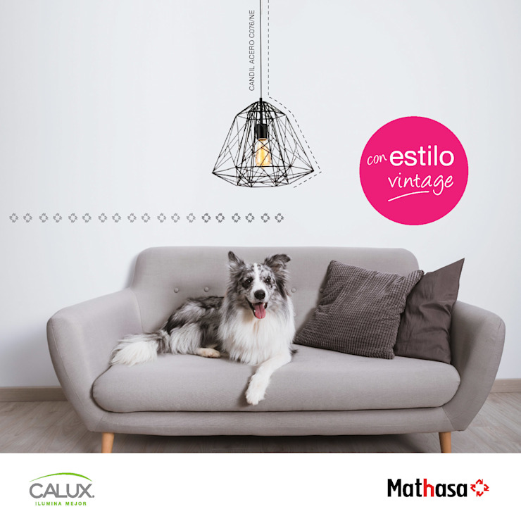 Mathasa Living roomLighting Aluminium/Zinc Black