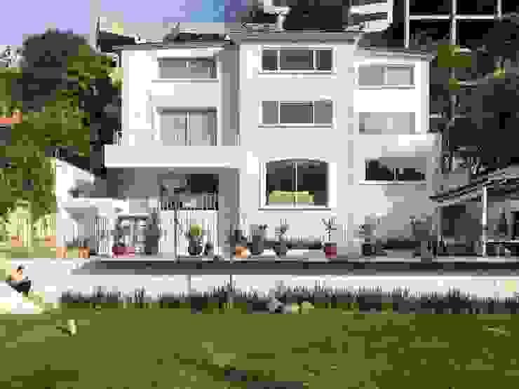 Arechiga y Asociados Villa Batu Bata White