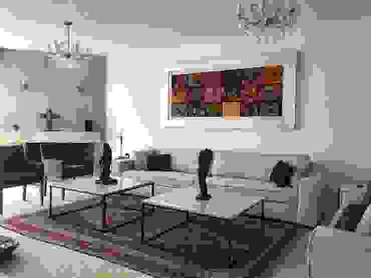 Arechiga y Asociados Living roomFireplaces & accessories Katun Grey