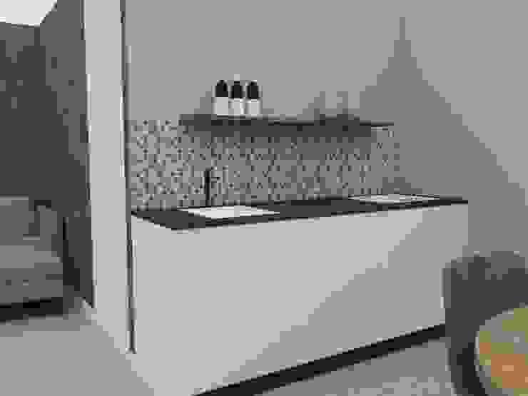 Glenn van Rossum Small kitchens White